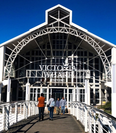 Cape Town's vibrant V&A Waterfront